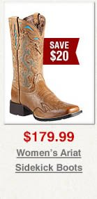Ariat Sidekick Cowgirl Boots