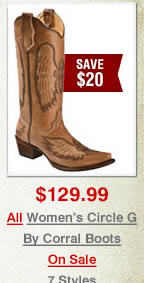 All Circle G by Corral Boots on Sale