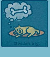 Men's Crusher Tees Dream Big Rocket