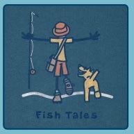 Men's Crusher Tees Fish Tales