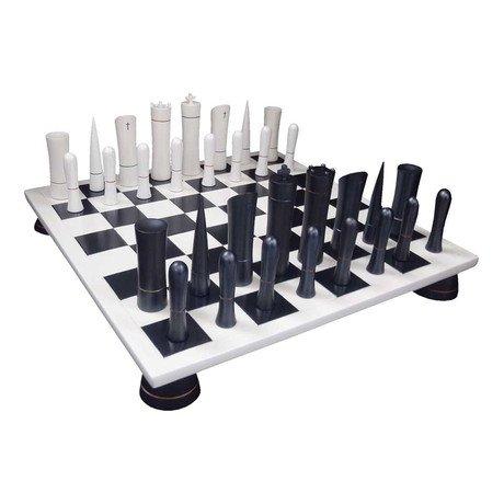 Chess Set // White + Black Board