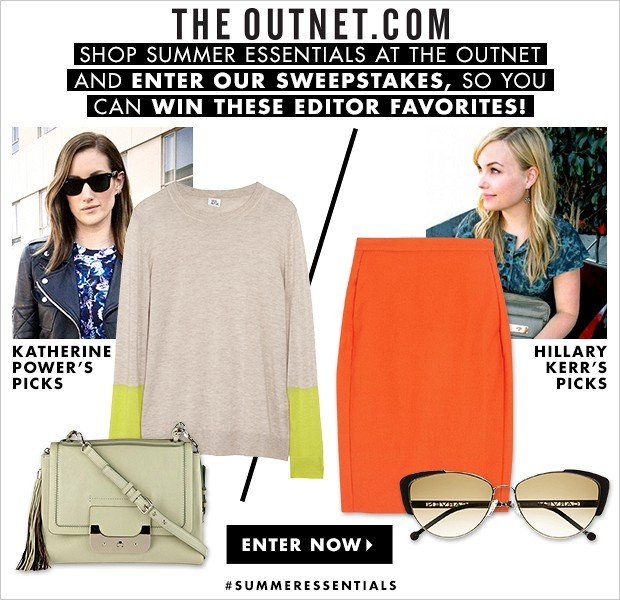 Enter To Win THE OUTNET's Summer Essentials Sweepstakes