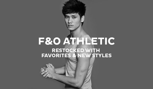 F&O Athletic - Restocked With Favorites & New Styles