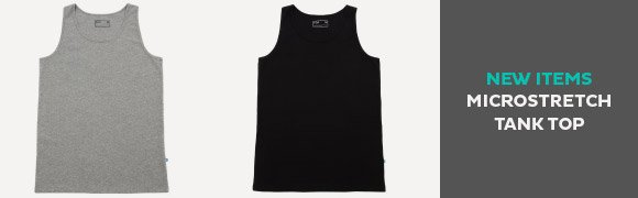 NEW ITEMS MICROSTRETCH TANK TOP