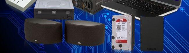 ODD, Speaker, HDD