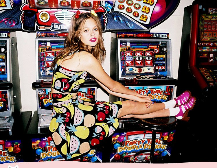 Take a bit out of Lazy Oaf x Nasty Gal for a summertime treat inspired by candy, stickers, and all things witty and weird