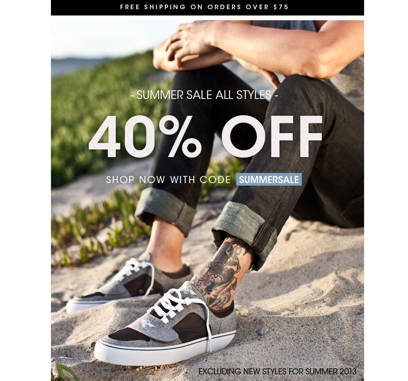40%OFF SUMMER SALE