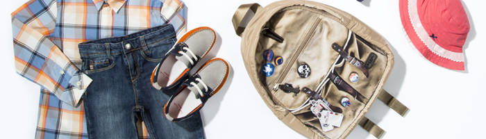 KIDS SPRING/SUMMER 13 TRAVEL ESSENTIALS