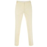 Pastel Yellow Chino Trousers