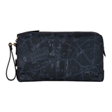 London Map Print Wash Bag