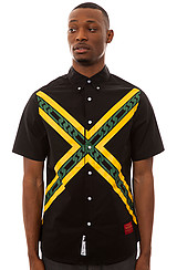 The Island Hopper Buttondown Shirt in Black
