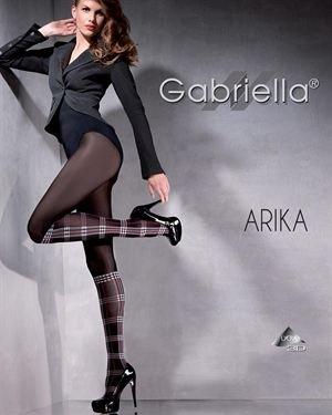 Gabriella Tartan Stocking Effect 60 DEN Hosiery Made In Europe