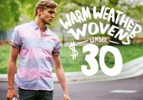 Shop Warm-Weather Wovens Under $30