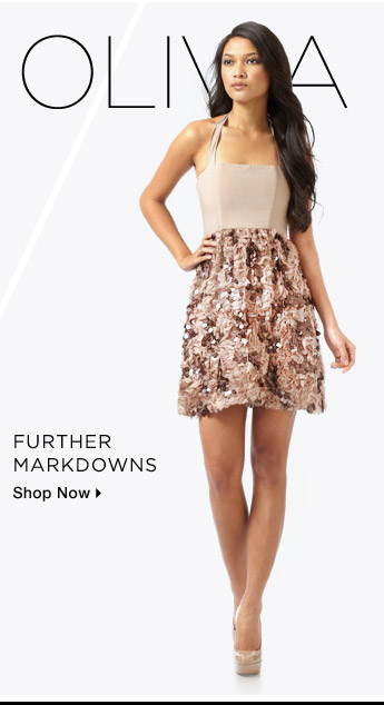 Alice + Olivia: Further Markdowns