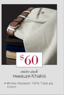 $60 USD - Traveler Khakis