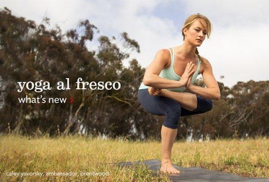 yoga al fresco