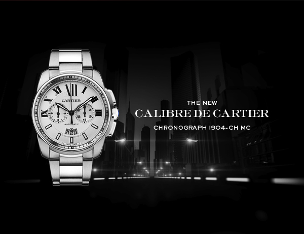 THE NEW CALIBRE DE CARTIER CHRONOGRAPH 1904-CH MC