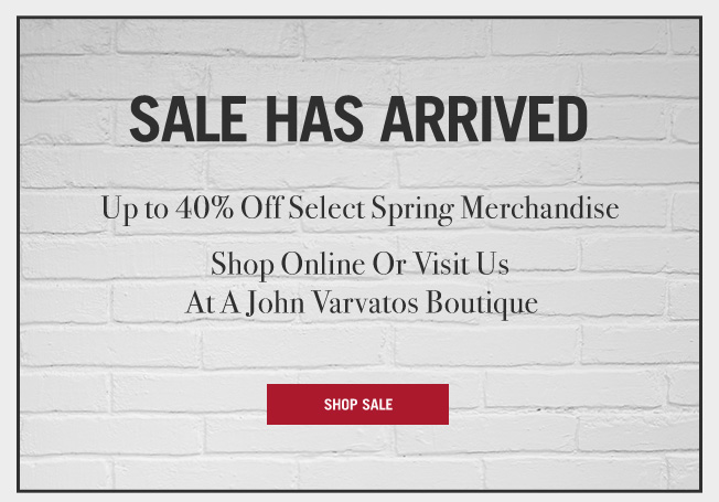Sale Has Arrived