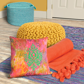 Color Story: Bright Textiles