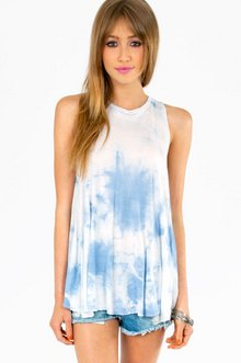 TONGUE TIE DYED TOP 30