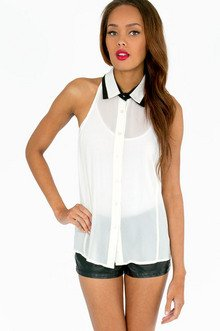 POP MY COLLAR BLOUSE 21
