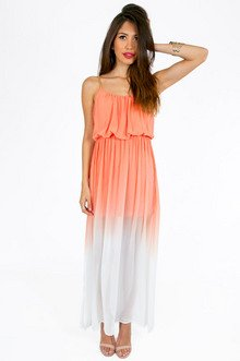 ALWAYS SPIRITED OMBRE MAXI DRESS 46