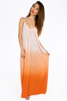 KISS ME OMBRE MAXI DRESS 40