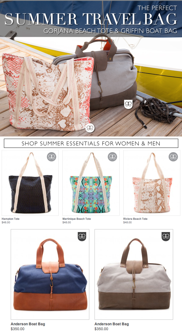 Perfect Summer Travel Bag