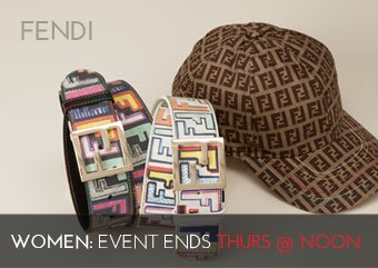 FENDI - WOMEN'S BELTS