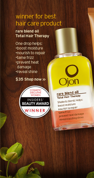 winner fro best hair care product rare blend oil Total Hair Therapy  One drop helps boost moisture nourish to repair rame frizz prevent heat  damage reveal shine SHOP NOW