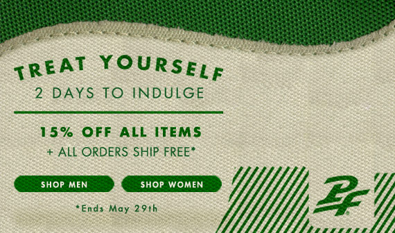 Go Green! Celebrate the Earth in style. 15% off orders over $75