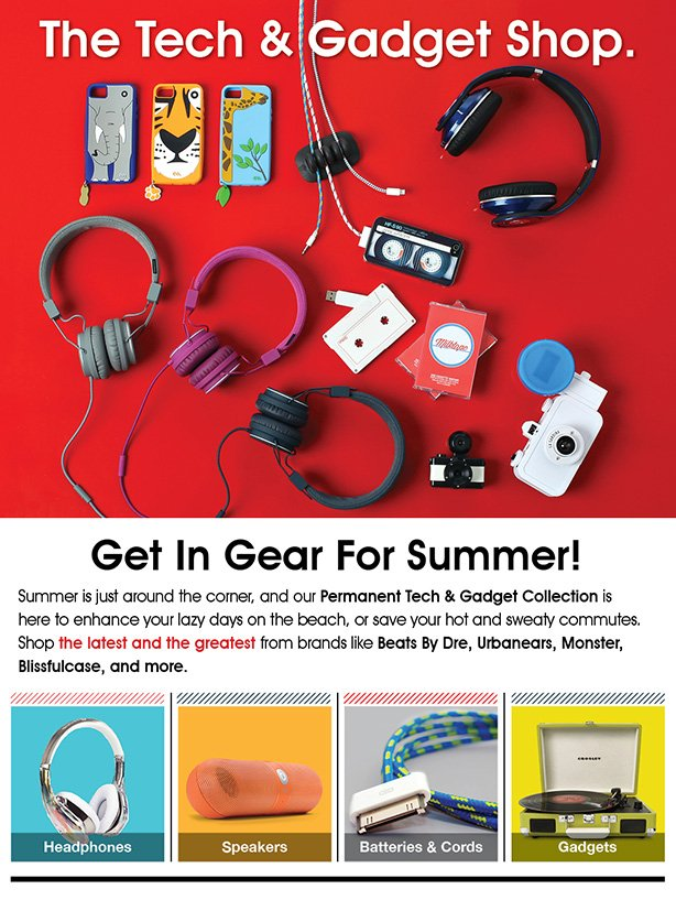Tech and Gadgets Pop Up US