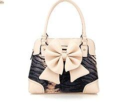 Bow Leopard Bag