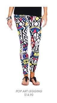 Shop Pop Art Tribal Legging