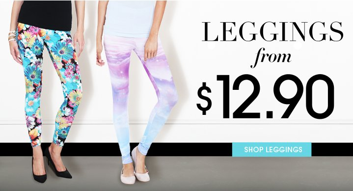 Leggings From $12.90 - Shop Now