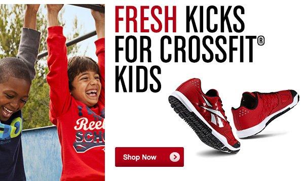 Fresh Kicks for CrossFit® Kids Shop Now »