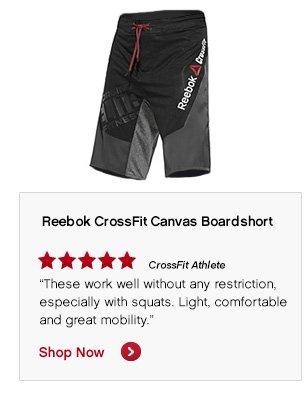 Reebok CrossFit Canvas Boardshort Shop Now »