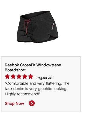 Reebok CroosFit Windowpane Boardshort Shop Now »