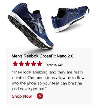 Men's Reebok CrossFit Nano 2.0 Shop Now »