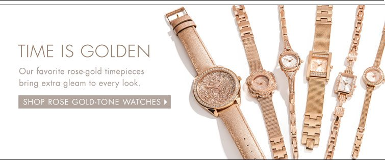 Shop Rose Gold-Tone Watches