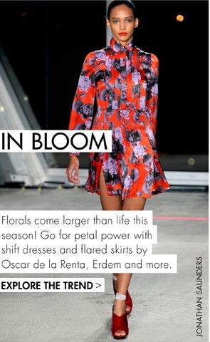 IN BLOOM! THIS SEASONS FLORALS