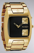Nixon The Banks Watch in All Gold & Black