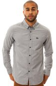 RVCA The That'll Do Buttondown Shirt in Pavement