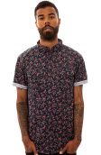 10 Deep The Tribes Buttondown Shirt in Navy Rose