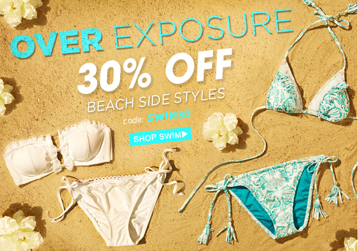 30% Off Beachside Styles