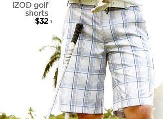 IZOD golf shorts $32 ›
