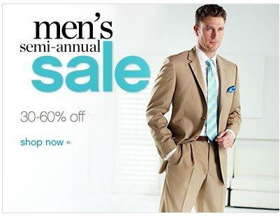 Men's Semi-Annual Sale. 30-60% off. Shop now.