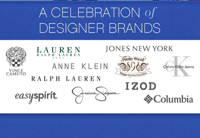 A Celebration of Designer Brands.