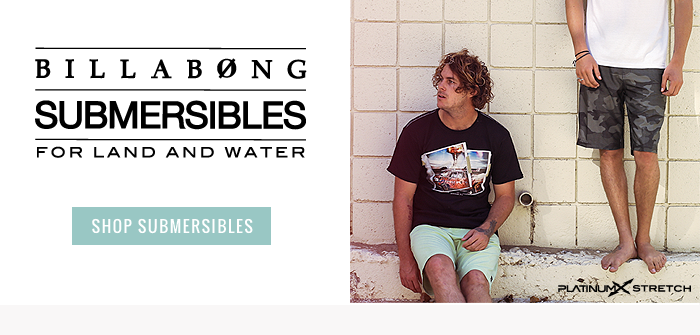 Billabong Submersibles for land and water - shop now