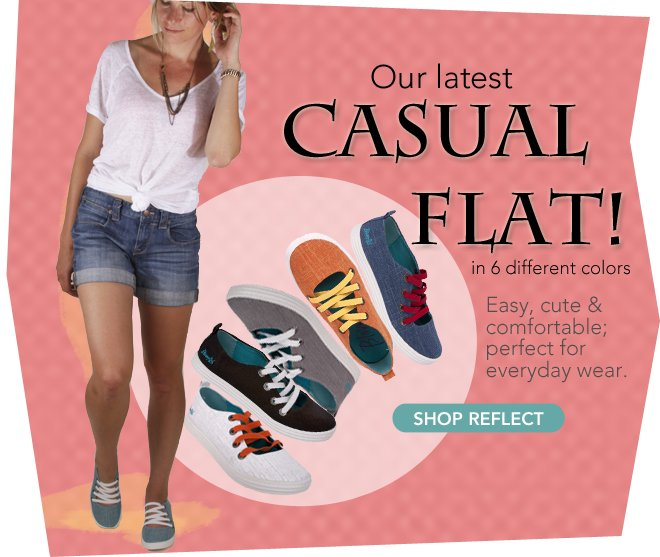 Easy, Cute & Comfortable- Shop Reflect!